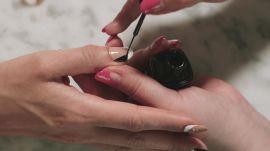 """""""Woman Power"""" Nail Art Is the Perfect Manicure for Feminists"""