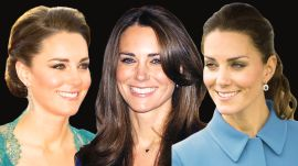 Kate Middleton's Hairstyles Through The Years