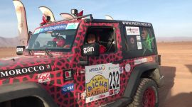 A Women-Only Desert Rally in Morocco