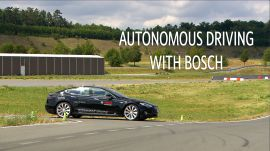 Autonomous driving with Bosch | Ars Technica
