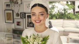 Watch Miranda Kerr's Fairy-Tale Wedding Dress Fitting