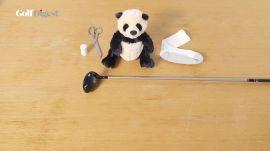 Golf Hacks: Turn a teddy bear into a headcover