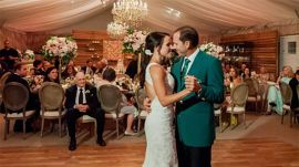 Sergio Garcia's green jacket wedding