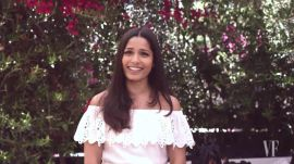 Freida Pinto Wants to Invite You to Dinner. This is Why.