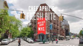 Craveworthy Crudo: April Bloomfield's Bite Size Guide To NYC