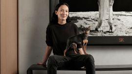 Alexander Wang Went 50 Shades of Black On His Manhattan Apartment