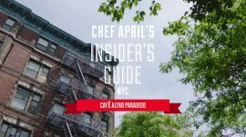 Join April Bloomfield and Spotted Pig Alum Ignacio Mattos at Café Altro Paradiso in NYC