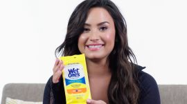 Why Demi Lovato Brings Wet Wipes to the Gym