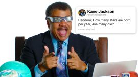 Neil deGrasse Tyson Answers Science Questions From Twitter