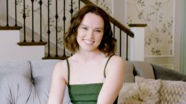 Daisy Ridley Raps Eminem and Shows Off Her Lightsaber Skills