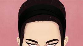 Miu Miu Spring Fashion Week Illustration Time Lapse