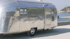 Jenni Kayne Outfits an Airstream for the Launch of her Home Brand