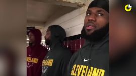 LeBron James' NYC Subway Adventure