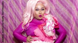 Rupaul's Drag Race Star Jiggly Caliente Achieves A Beat Look
