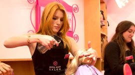 Pulling Pranks with Bella Thorne at The Grove in Los Angeles
