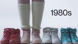 100 Years of Women's Sneakers