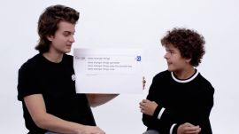 Gaten Matarazzo and Joe Keery Answer the Web's Most Searched Questions