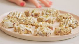 The Best No-Bake Pistachio Cookies