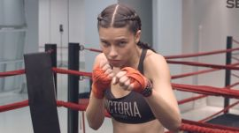 Victoria's Secret Angel Workout: 4 Boxing Moves For Angels