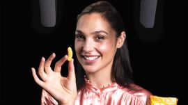 Gal Gadot Explores ASMR with Whispers, Knives, and Snacks