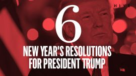 Six New Year's Resolutions for President Trump