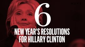 Six New Year's Resolutions for Hillary Clinton