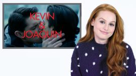 Riverdale's Madelaine Petsch Guesses Who's Kissing Who on Her Show
