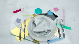 3 Creative Table Settings to Make Your Dinnerware Pop