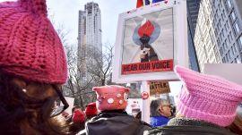 Women Marching to Be Heard