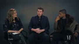 Usher and Garrett Hedlund Talk Transformation and Redemption In Their New Film