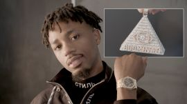 Metro Boomin Owns a Ton of Blinged-Out Pendants