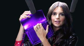 Emily Ratajkowski Explores ASMR with Whispers, Leather, and a Lint Roller