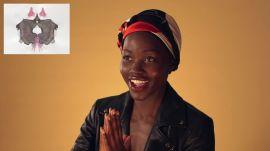 Lupita Nyong'o Takes a Rorschach Test