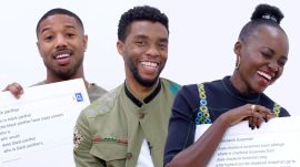 Black Panther Cast Answers the Web's Most Searched Questions