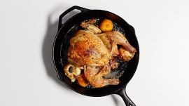 No-Fail Roast Chicken with Lemon and Garlic
