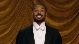 Michael B. Jordan Basks in the Joy of Ironing