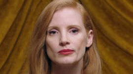 "Jessica Chastain Twitches Her Nose Like ""Bewitched"""