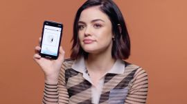 Lucy Hale Shows Us the Last Thing on Her Phone