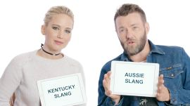 Jennifer Lawrence and Joel Edgerton Teach Kentucky and Aussie Slang