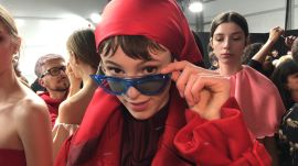 Backstage at Valentino, Pierpaolo Piccioli Shares a New Definition of Romance