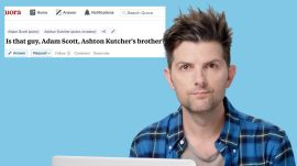 Adam Scott Goes Undercover on Reddit, Instagram, and Twitter
