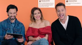 "The Cast of ""This Is Us"" Gives Advice to Strangers on the Internet"