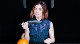 Lucy Hale Explores ASMR with the Spookiest Sounds from the Scariest Horror Movies of All-Time