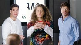 Adam Devine, Blake Anderson & Anders Holm Improvise a PowerPoint Presentation