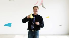 How This Guy Folds and Flies World Record Paper Airplanes