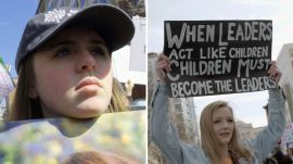 Two Teens Scarred by School Shootings Unite at the March For Our Lives