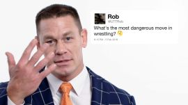 John Cena Answers Wrestling Questions From Twitter