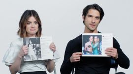 Lucy Hale and Tyler Posey Explain Their Instagram Photos