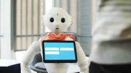 Let's Catch Up With Pepper, the Dancing, Surprisingly Helpful Humanoid