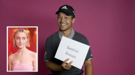 Xander Schauffele Attempts to Pronounce Difficult Celebrity Names